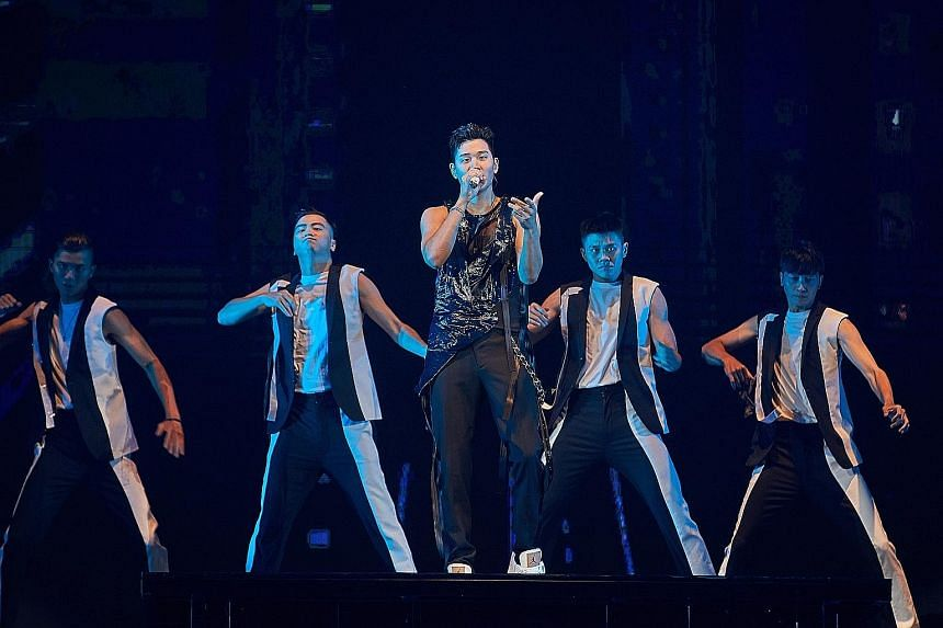 Mandopop star Eric Chou held his full-scale concerts last Saturday and Sunday.