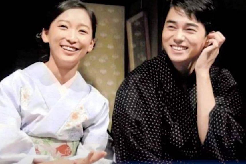 Model Anne Watanabe and ex-husband, Masahiro Higashide.