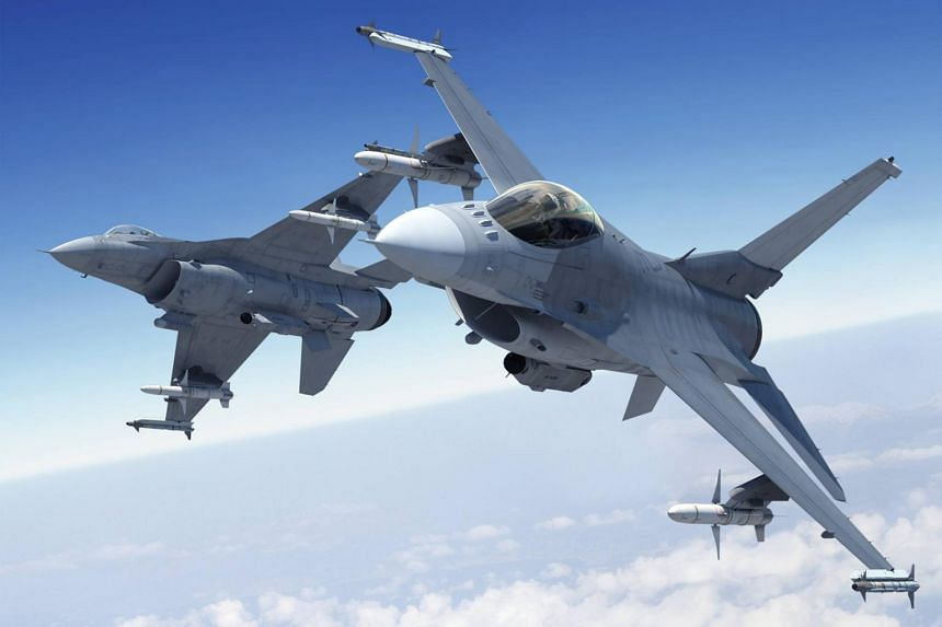 Taiwan has a fleet of F-16s purchased in 1992.