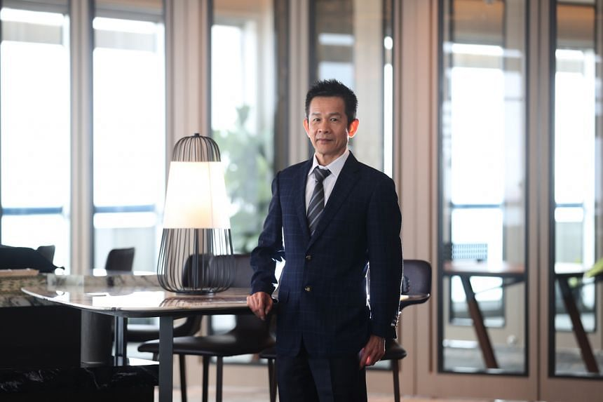Wong Teek Son is now worth S$1.6 billion as shares of his company rallied almost sixfold from a low in March.
