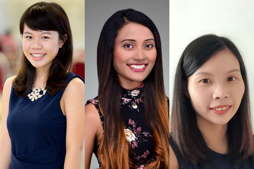 Among the more than 200 assessors from the legal, accountancy, financial and other industry sectors appointed by the Law Ministry are (from left) lawyer Michelle Lee, lawyer Nur Rauda Mohamed Said and auditor Chong Yit Jen. P