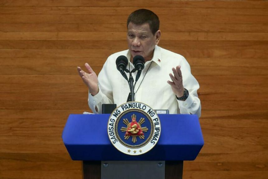Rumours swirled over the weekend that an air ambulance flew Mr Duterte to Singapore for a medical emergency.