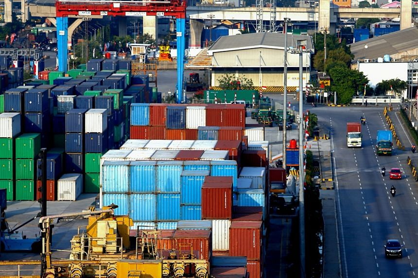 July exports were worth US$13.73 billion, down 9.9 per cent on-year.