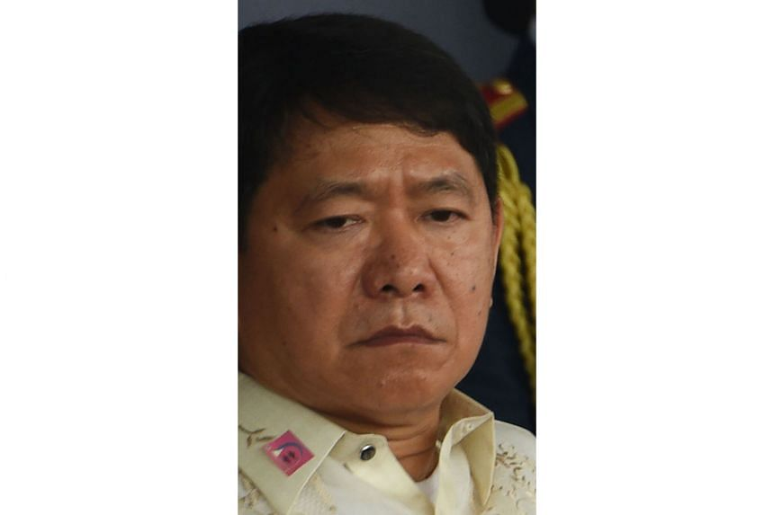 Philippine Interior Secretary Eduardo Ano tested positive five months after an initial diagnosis.