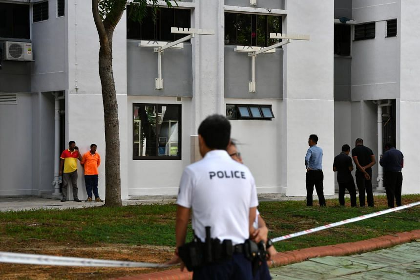 The baby was found by two town council cleaners working at the block of flats in Bedok North on Jan 7, 2020.