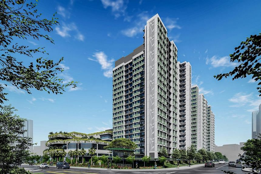 The Dakota One project in Geylang is within walking distance of Dakota MRT station. The 87 three-room flats at the project were less popular than the four-room flats, attracting around five applicants for each unit.