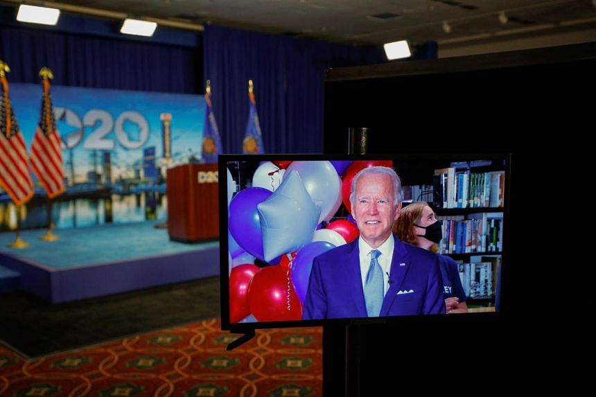 Joe Biden was nominated on the second night of the Democratic national convention, almost six months after he won the South Carolina primary.