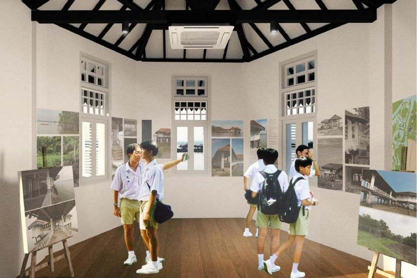 Artist's impression of Cashin House visitor gallery.