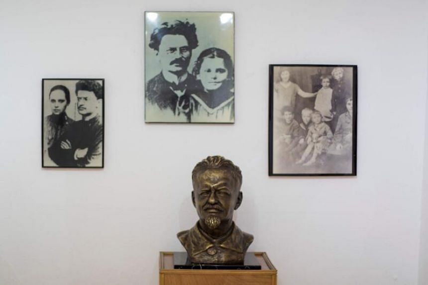 Leon Trotsky's house in the Mexican neighbourhood of Coyoacan has been preserved as a museum.