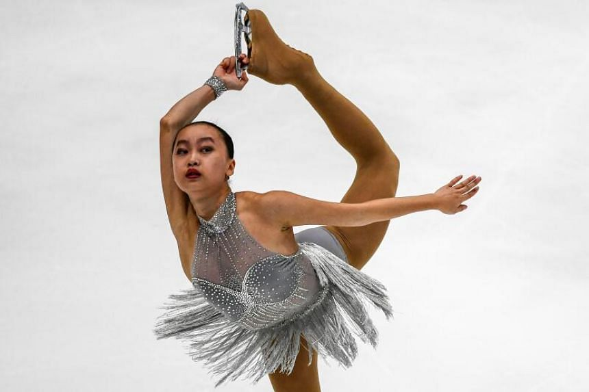 Singaporean figure skater Yu Shuran had earlier spoken out about her experience while training in China.