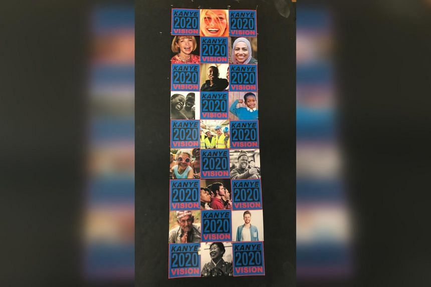 The promo highlights a checkered collage which includes activists and celebrities.