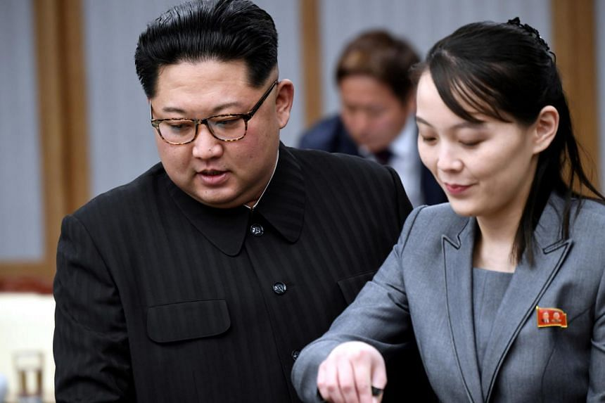 North Korean leader's sister is 'de facto second-in-command', South Korean lawmaker says