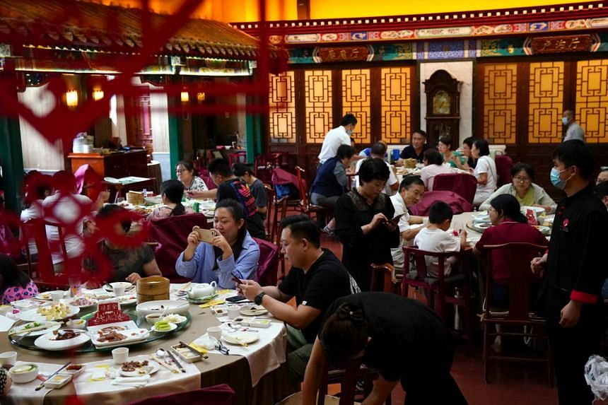 """China's """"Clean Plate"""" campaign was launched last week by President Xi Jinping who called on diners to stop wasting food."""