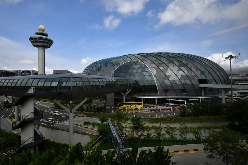 The Changi air hub is a crucial part of the Singapore economy.