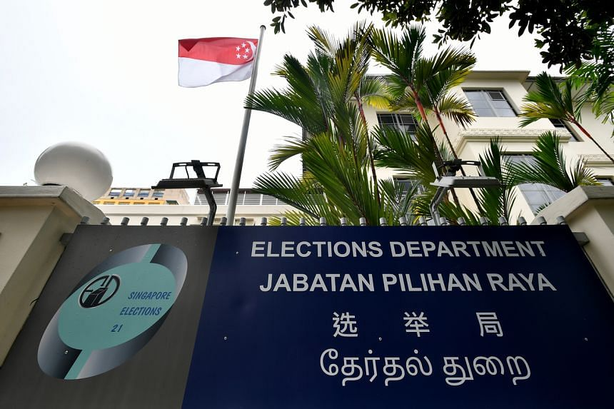 The facade of the Elections Department Singapore on June 24, 2020.