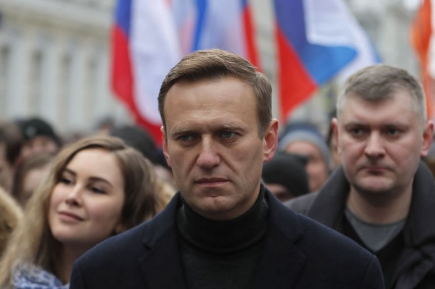 Mr Alexei Navalny started feeling ill when returning to Moscow from Tomsk in Siberia by plane on Wednesday morning. His spokesman said he had had a cup of tea pre-flight and that she believed it was laced with poison.