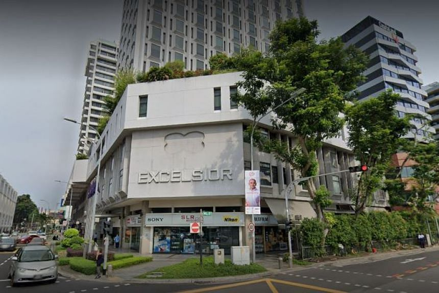 The 61-year-old Singaporean man worked at a camera shop at Excelsior Shopping Centre.