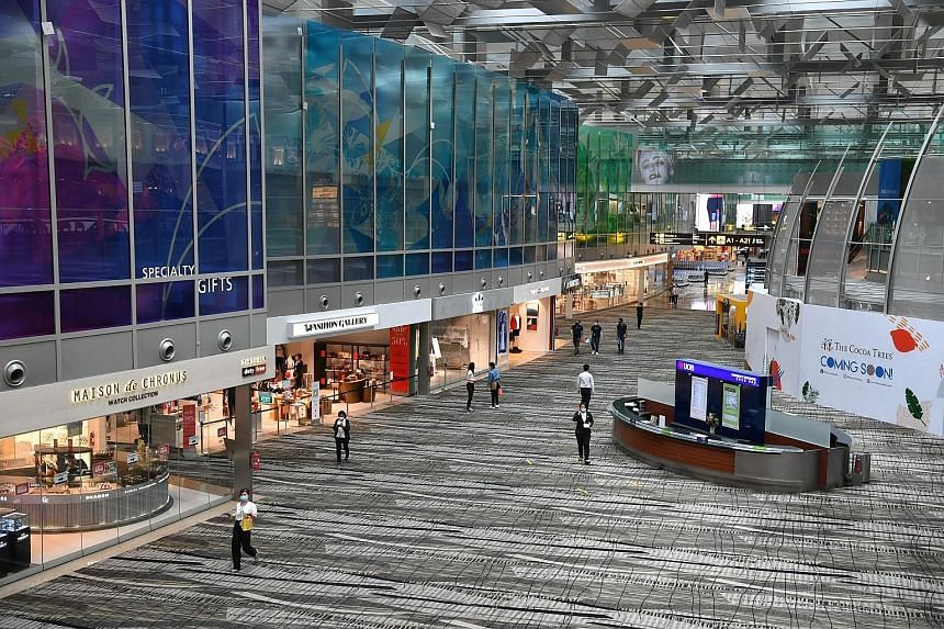 Changi Airport is set to see more travellers with the relaxing of border controls to visitors from New Zealand and Brunei. Transport Minister Ong Ye Kung said yesterday that the aviation sector, airport and Singapore Airlines do not just concern the