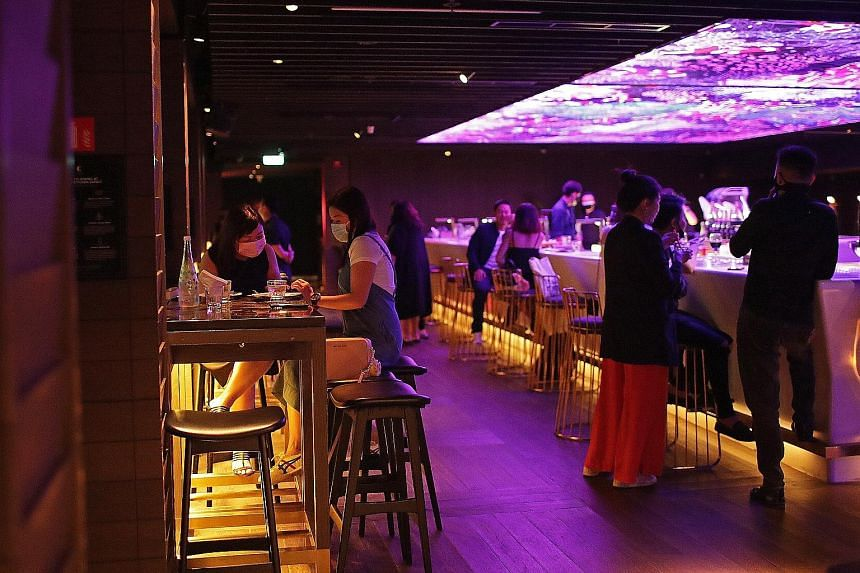 Zouk transformed its Capital lounge in Clarke Quay into a pop-up restaurant, Capital Kitchen, which has been open for almost two months. ST PHOTO: GIN TAY
