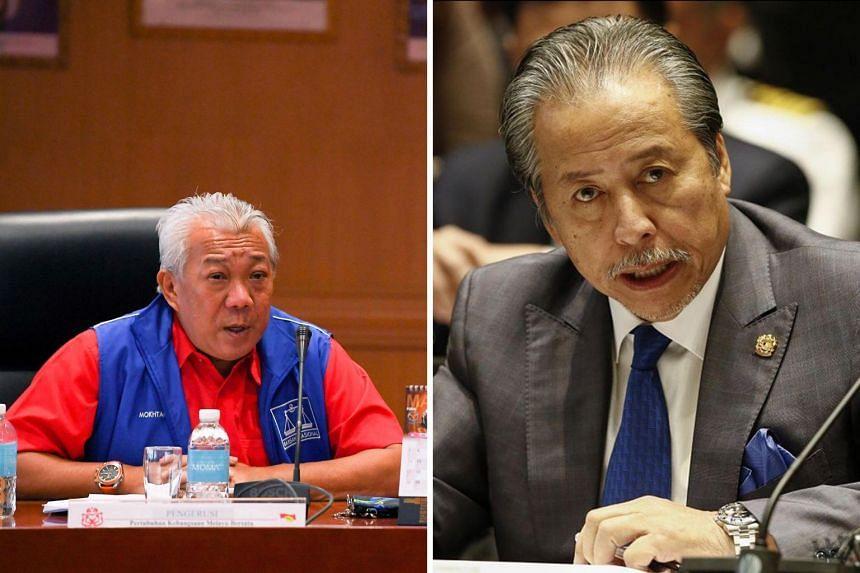 The key players in Sabah's Sept 26 election include Warisan president and former Sabah chief minister Shafie Apdal, former Umno Sabah chief minister Musa Aman, current Umno Sabah chief Bung Moktar Radin (left) and Parti Cinta Sabah head Anifah Aman