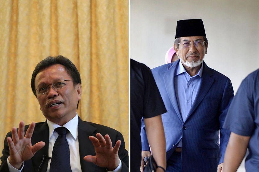 The key players in Sabah's Sept 26 election include Warisan president and former Sabah chief minister Shafie Apdal (left), former Umno Sabah chief minister Musa Aman (right), current Umno Sabah chief Bung Moktar Radin and Parti Cinta Sabah head Ani