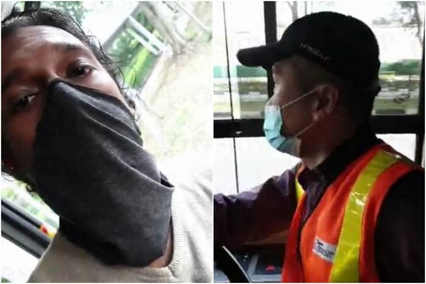 The minister's post comes after a Facebook user posted a video of himself verbally abusing a bus driver who would not let him board wearing a neck gaiter instead of a face mask.