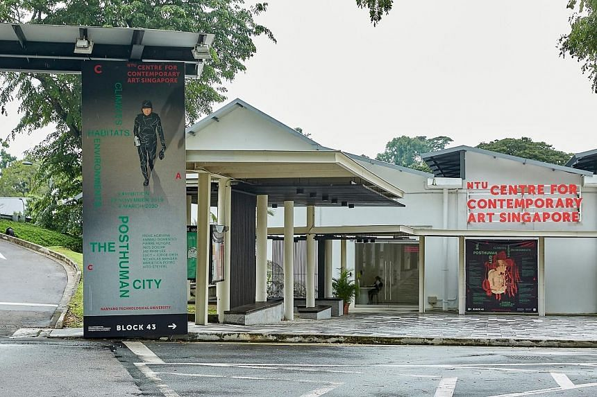 The NTU Centre for Contemporary Art at Gillman Barracks opened in 2013 and was jointly set up by the Nanyang Technological University and the Economic Development Board.