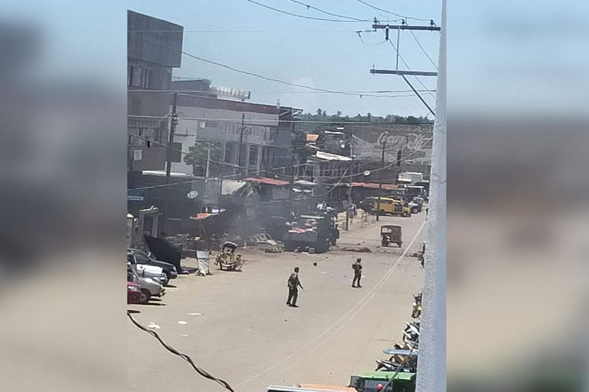 Two explosions rocked Jolo, Philippines on Aug 24, killing at least five people.