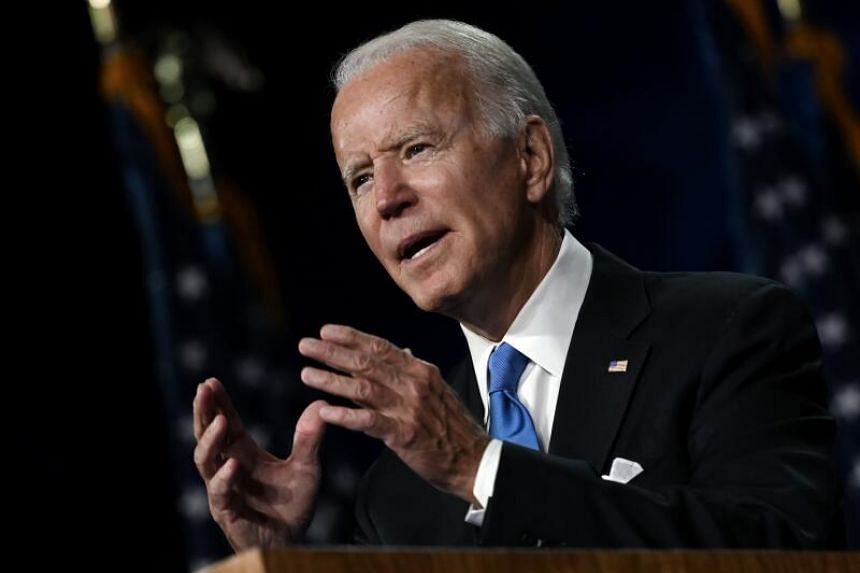 Biden, 77, is at an age where complications from contracting the coronavirus could be more severe.