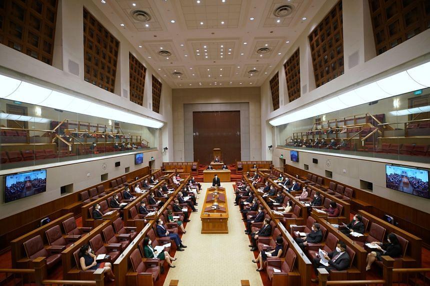 <p>0824HT Singapore's 14th Parliament @ Parliament House</p>