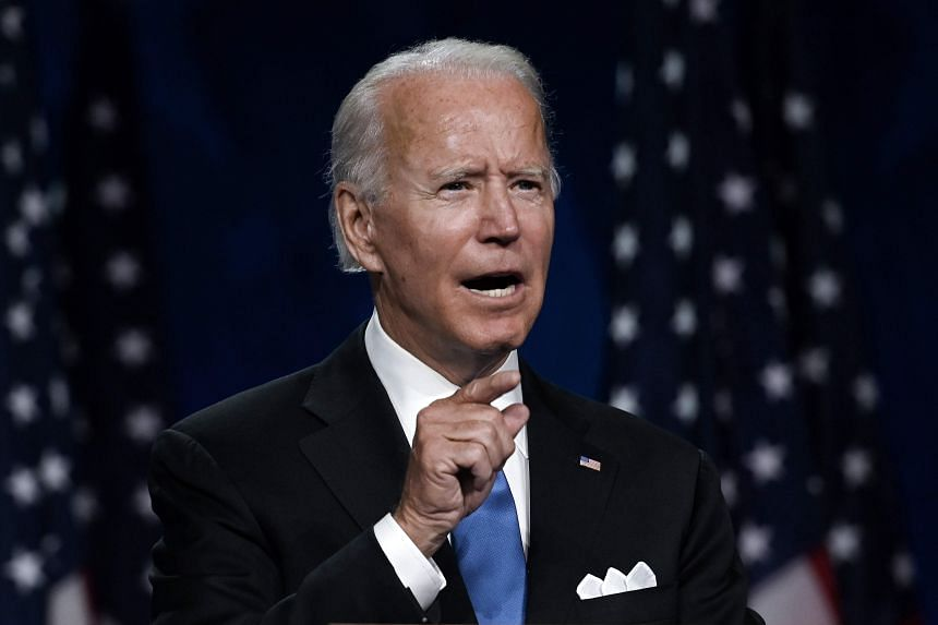 Mr Biden would be 78 on Inauguration Day, making him the oldest president ever to serve.