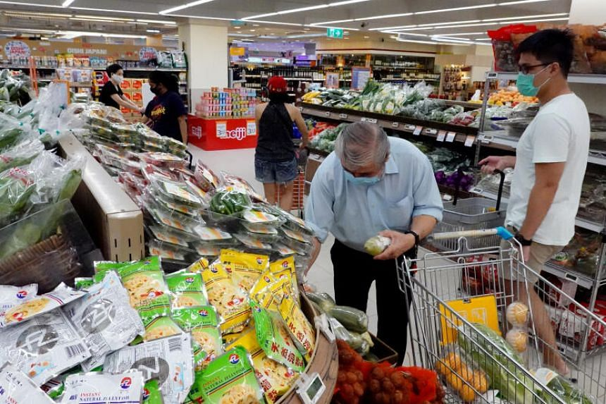Food inflation edged down slightly, at 2.2 per cent in July, compared with 2.3 per cent the month before.