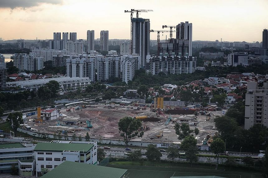 Sovereign wealth funds invested US$4.4 billion (S$6 billion) in the real estate sector in the first seven months of this year, 65 per cent down from the same period a year ago. The nature of property investments is also shifting, with funds increasin