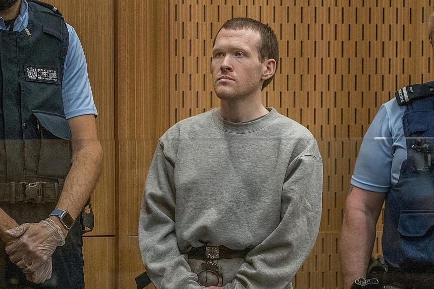 Brenton Tarrant displayed no emotion yesterday as relatives of the victims in the mosque shootings recalled the horror of the massacre in March last year. He has pleaded guilty to 51 murders, 40 attempted murders and one charge of committing a terror