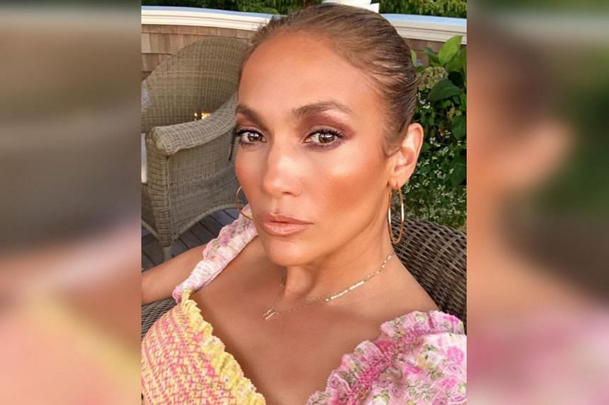 J.Lo shared a series of sunset-lit selfies with her 130 million followers on Instagram.