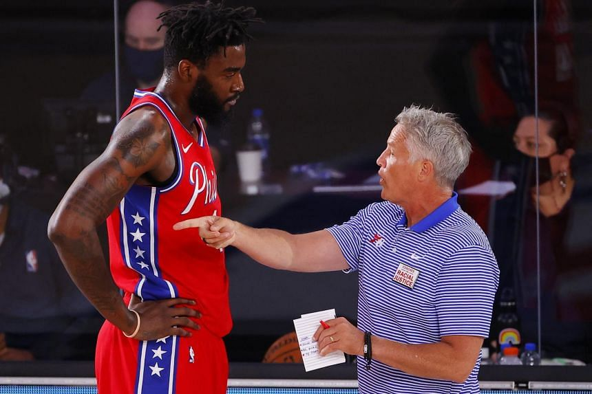 Brown compiled a 221-344 record in seven seasons at the helm of the Philadelphia 76ers.
