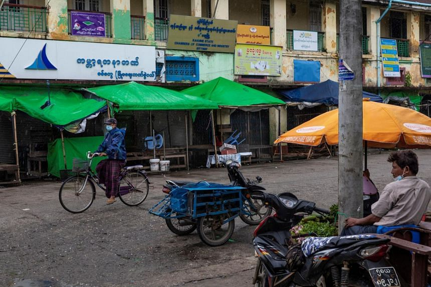 The region has seen the fastest spread of the coronavirus in Myanmar in recent months.