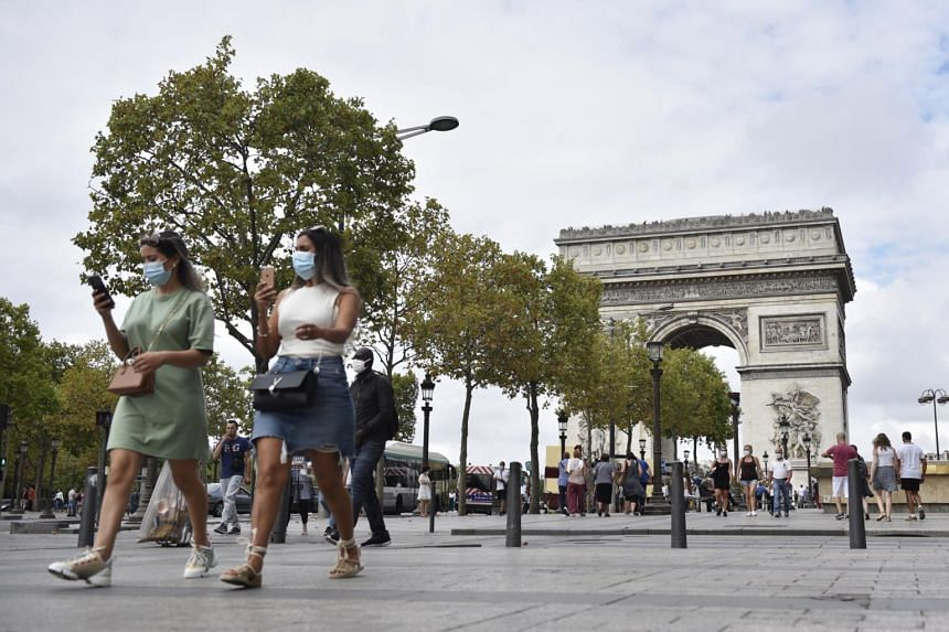 Masks compulsory across Paris as Covid-19 cases surge
