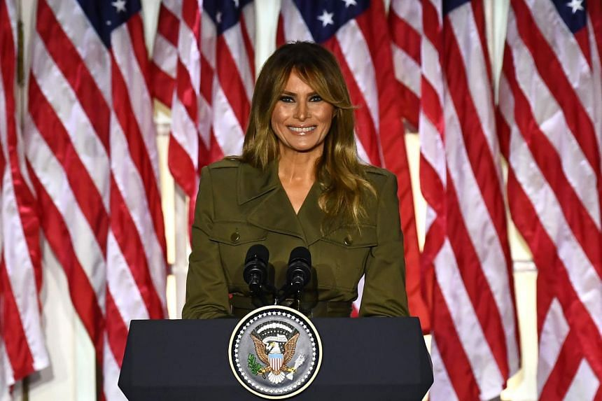Melania Trump Offers Sympathy On Covid 19 Racial Suffering In Republican National Convention Speech United States News Top Stories The Straits Times