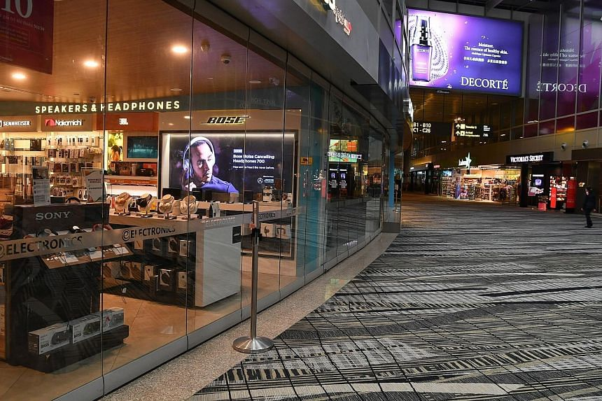 Changi Airport's online shopping campaign comes amid a sluggish retail environment that is prompting many retailers to move online. Shoppers can expect vouchers, rewards and deals of various amounts, live-streamed sessions of local personalities revi