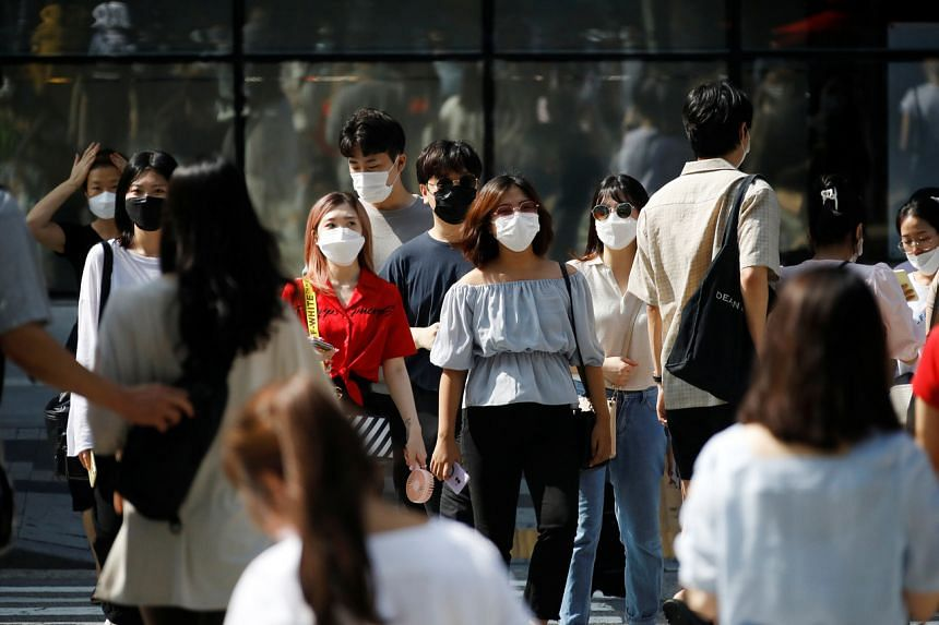 The number of foreigners who were illegally staying in South Korea hit an all-time high of 396,654 in May.