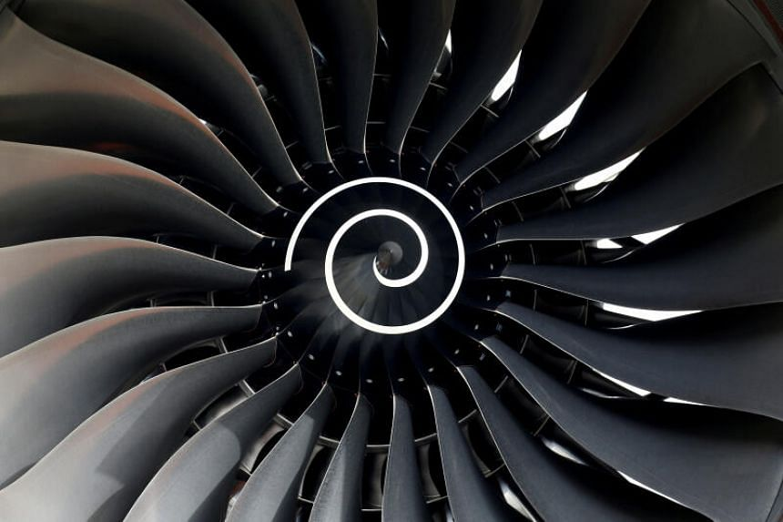 Singapore is currently the only country outside Britain where Rolls-Royce manufactures its hollow titanium wide chord fan blades.