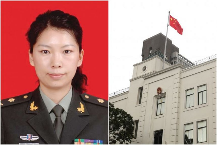 Juan Tang spent weeks holed up in the Chinese consulate in San Francisco before she was arrested.