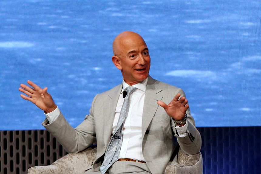 The net worth of Amazon.com founder Jeff Bezos eclipsed US$200 billion (S$273 billion) on Wednesday, as shares of the e-commerce giant climbed to a record. His fortune has grown by US$87.1 billion this year.