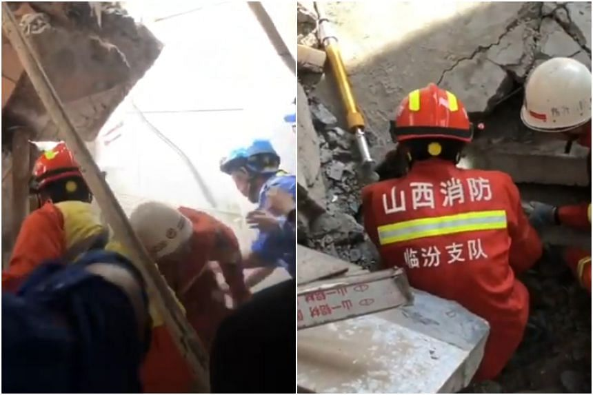 2-story restaurant collapses in China, killing 17 people