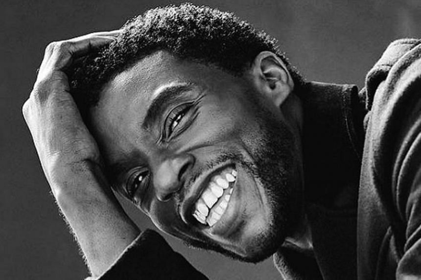 Black Panther Star Chadwick Boseman Dies From Colon Cancer At 43 Entertainment News Top Stories The Straits Times