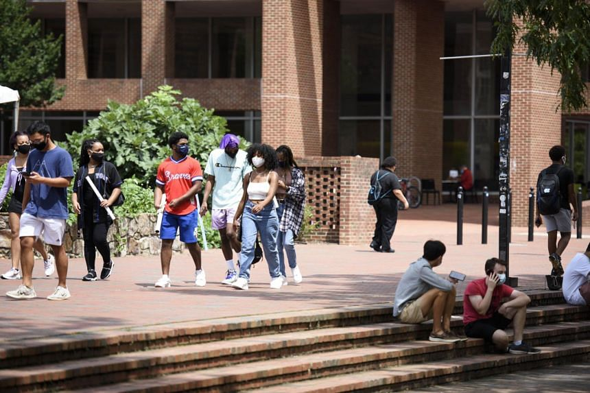 The University of North Carolina at Chapel Hill sent most undergraduates home after clusters popped up in campus housing.