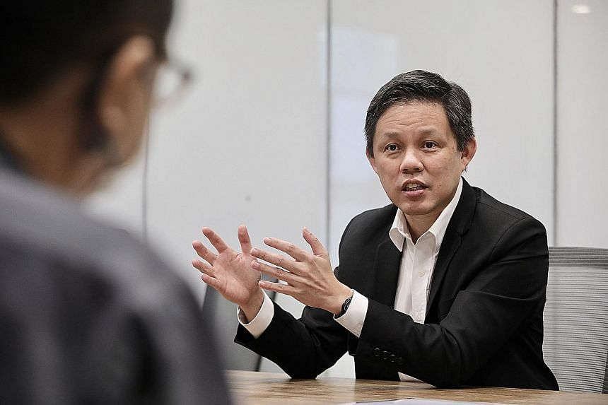Trade and Industry Minister Chan Chun Sing says there are things in the Covid-19 world that have accentuated Singapore's strengths: strong leadership, a stable environment, coherent long-term policies, connectivity to the world, protection of intelle