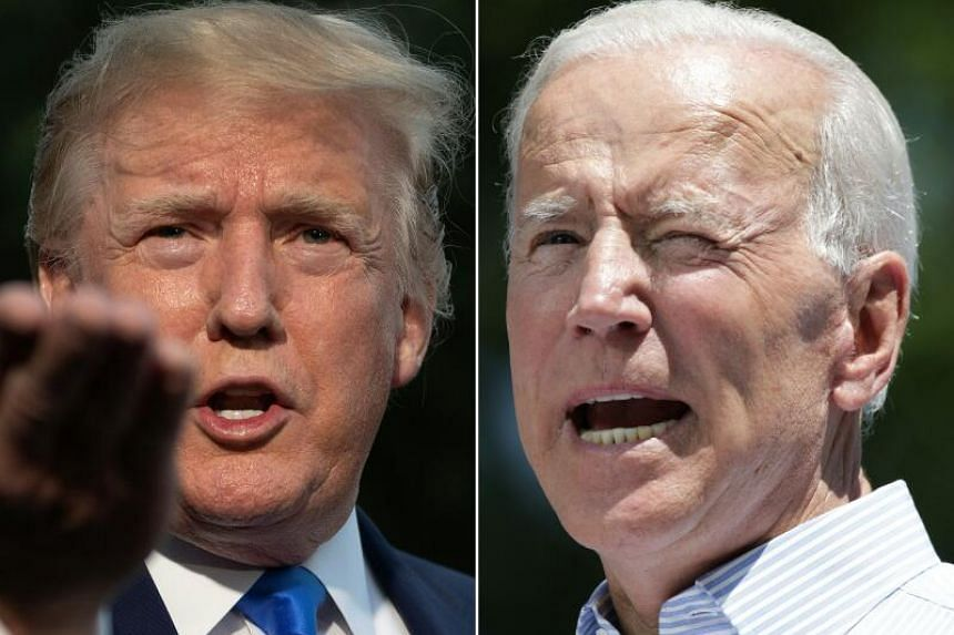 As his four-year term comes to an end, Mr Trump has a viable challenger in Democratic candidate Joe Biden, who leads in opinion polls.