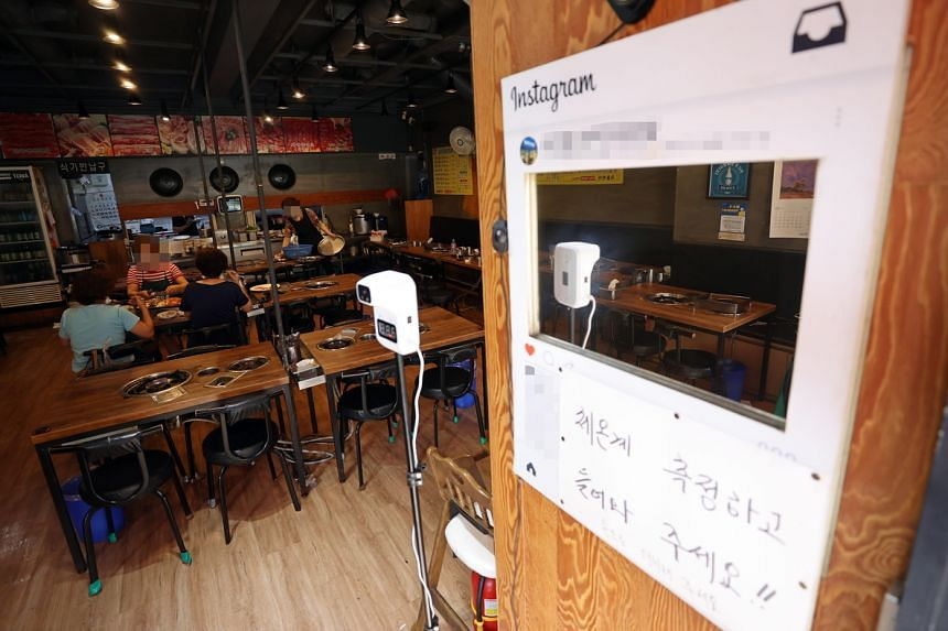 Onsite dining at restaurants, pubs and bakeries in the Seoul area is banned between 9pm and 5am.